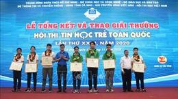 Trao giải Hội thi Tin học trẻ toàn quốc lần thứ 26