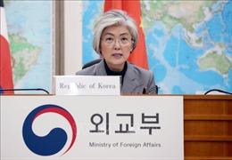 Ngoại trưởng Hàn Quốc lên đường thăm Mỹ
