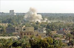 Tấn công căn cứ quân sự ở thủ đô của Iraq làm 19 người thương vong