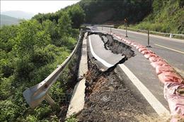 Khôi phục cấp điện khu vực Cửa khẩu quốc tế Cha Lo sau lũ lụt
