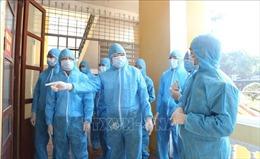 Đoàn Ban Chỉ đạo quốc gia phòng, chống dịch COVID-19 làm việc tại tỉnh Hà Nam
