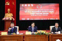 50 tác phẩm đoạt Giải báo chí toàn quốc 'Vì sự nghiệp giáo dục Việt Nam' năm 2020