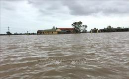 Nhiều nơi ở Thừa Thiên - Huế vẫn bị ngập úng nặng