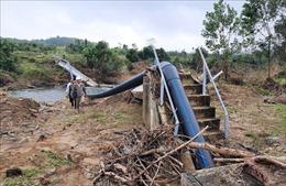 Nhiều công trình thủy lợi ở Thừa Thiên - Huế bị hư hỏng nặng do mưa lũ