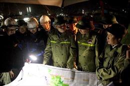 Kiểm tra công tác chuẩn bị ứng phó bão số 13 tại Quảng Bình
