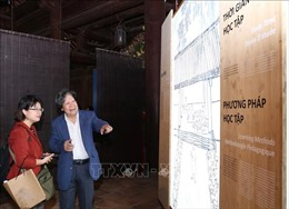 Khai mạc Trưng bày chuyên đề 'Chu Văn An - Thượng tường Sơn Đẩu'