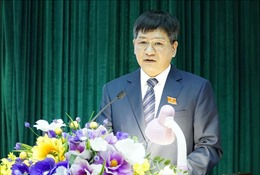 Phê chuẩn việc miễn nhiệm, kết quả bầu chức vụ Chủ tịch UBND tỉnh Điện Biên
