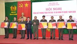 Đẩy mạnh phong trào thi đua 'Vì an ninh Tổ quốc' 7 tỉnh biên giới phía Bắc