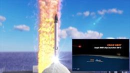 Mỹ thử nghiệm thành công tên lửa đánh chặn bắn hạ ICBM đang bay