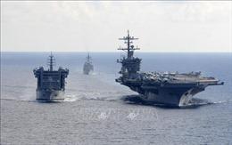Giai đoạn hai cuộc tập trận hải quân đa quốc gia Malabar