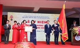 Phó Chủ tịch nước dự kỷ niệm 100 năm Trường Trung học cơ sở Ngô Sĩ Liên