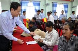 Chủ tịch Ủy ban Trung ương Mặt trận tổ quốc Việt Nam thăm, làm việc tại Quảng Ngãi