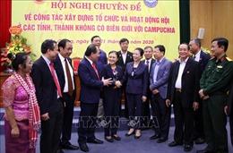 Cầu nối góp phần thúc đẩy quan hệ hữu nghị và hợp tác Việt Nam-Campuchia