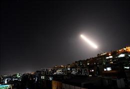 Israel không kích vị trí gần thủ đô Damascus của Syria