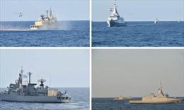 Hải quân Ai Cập, Hy Lạp tập trận chung ở biển Aegean