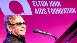 Elton John kêu gọi mở rộng xét nghiệm hướng tới chấm dứt lây nhiễm HIV ở Anh