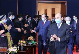 Lãnh đạo Đảng, Nhà nước dự Đại hội đại biểu toàn quốc các dân tộc thiểu số Việt Nam