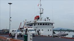 11 thuyền viên tàu Xin Hong đã được đưa vào bờ, thực hiện cách ly y tế phòng chống dịch