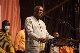 Điện mừng Tổng thống Burkina Faso tái đắc cử