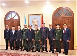 Đại sứ quán Việt Nam tại Ukraine kỷ niệm ngày thành lập Quân đội