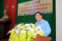 Bí thư Tỉnh ủy Vĩnh Long tiếp xúc, đối thoại trực tiếp với nhân dân thị xã Bình Minh