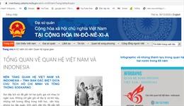 Khai trương trang chuyên đề về các hoạt động kỷ niệm 65 năm quan hệ ngoại giao Việt Nam - Indonesia