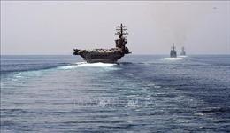 Tàu sân bay USS Nimitz của Mỹ tiếp tục ở lại vùng Vịnh
