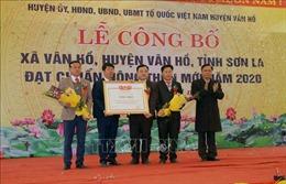Sơn La: Công bố xã Tô Múa, Vân Hồ đạt chuẩn nông thôn mới