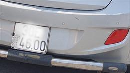 Dán băng dính che biển số, lái xe bị xử phạt trên cao tốc Nội Bài - Lào Cai
