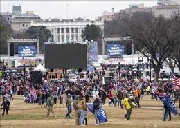 Thủ đô Washington phong tỏa khu vực trung tâm