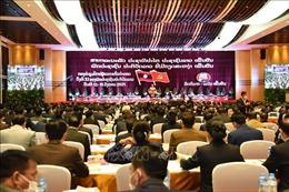 Bế mạc Đại hội lần thứ XI của Đảng Nhân dân Cách mạng Lào