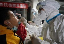 Ca mắc COVID-19 trong một ngày ở Trung Quốc cao nhất trong hơn 10 tháng