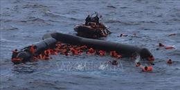 Hàng chục người di cư thiệt mạng do đắm tàu ngoài khơi Libya