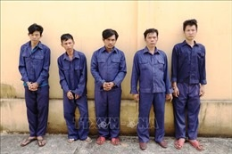 Tạm giữ 5 đối tượng để điều tra hành vi đưa người trái phép qua biên giới