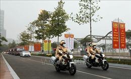 Chủ động phương án bảo đảm trật tự, an toàn giao thông, dẫn đoàn