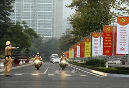 Đảm bảo giao thông thông suốt, an toàn trong thời gian diễn ra Đại hội Đảng