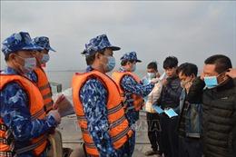 Bộ Tư lệnh Vùng Cảnh sát biển 1 chủ động phòng, chống dịch COVID-19