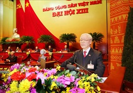 Đại hội XIII của Đảng thành công tốt đẹp - Thông qua Nghị quyết Đại hội