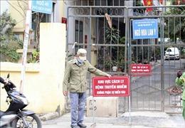 Phong tỏa nơi ở của bệnh nhân số 1819 tại phố Dịch Vọng, Cầu Giấy