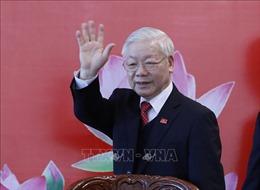 Tổng Bí thư Nguyễn Phú Trọng chủ trì họp báo sau Đại hội XIII của Đảng
