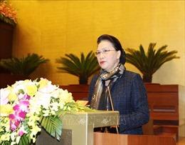 Chủ tịch Quốc hội: Nâng cao hơn nữa hiệu lực, hiệu quả hoạt động của Quốc hội