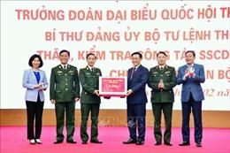 Bí thư Thành ủy Hà Nội thăm, chúc Tết Sư đoàn Bộ binh 301, Bộ Tư lệnh Thủ đô