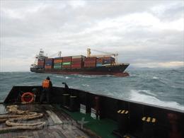"""Tàu container siêu lớn bị hỏng máy, thả trôi tại khu vực phao số """"0"""" Vũng Tàu"""
