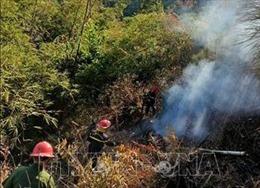 Kịp thời dập tắt vụ cháy rừng tại thành phố Gia Nghĩa