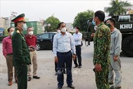 Mở đợt cao điểm toàn dân chống dịch như chống giặc tại huyện Cẩm Giàng