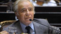 Điện chia buồn cựu Tổng thống Argentina Carlos Menem qua đời