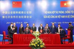 Hội nghị hợp tác phòng, chống tội phạm lần thứ 7 giữa Bộ Công an Việt Nam và Bộ Công an Trung Quốc