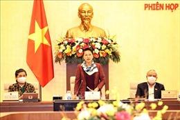 Bế mạc Phiên họp thứ 53 của Ủy ban Thường vụ Quốc hội