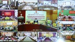 Hội nghị trực tuyến toàn quốc tập huấn nghiệp vụ công tác bầu cử: Hướng dẫn về bầu cử ở vùng có dịch COVID-19
