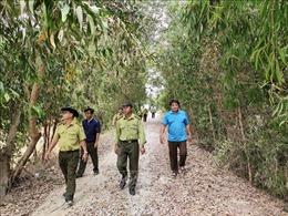 An Giang: Gần 7.300 ha rừng dễ xảy ra cháy trong mùa khô hạn